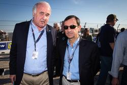 Frédéric Henry-Biabaud, consultor do WEC, e Pierre Fillon, presidente da ACO