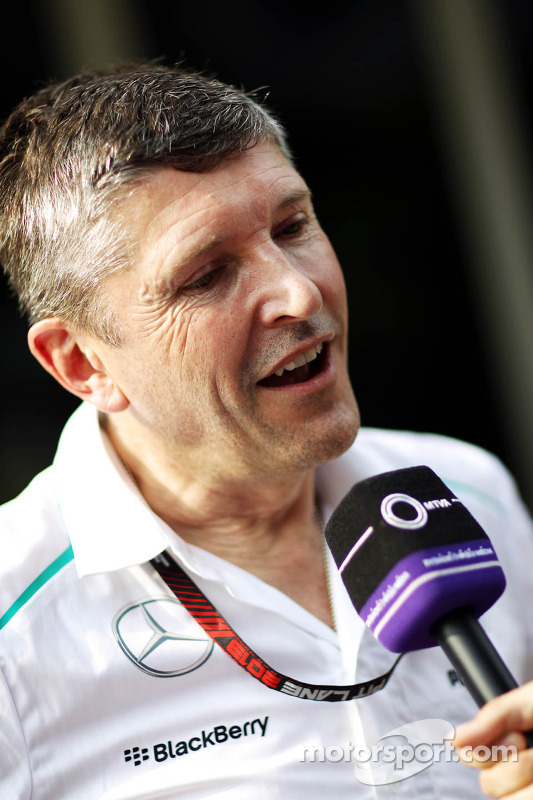 Nick Fry, the saigoing Mercedes AMG F1 Chief Executive Officer