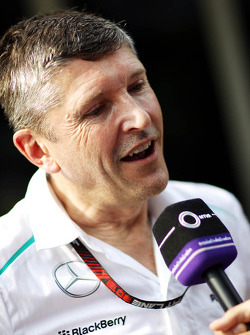 Nick Fry, the outgoing Mercedes AMG F1 Chief Executive Officer