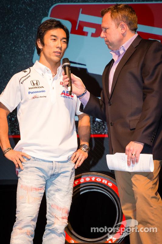 Apresentação de pilotos: Takuma Sato, A.J. Foyt Enterprises Honda