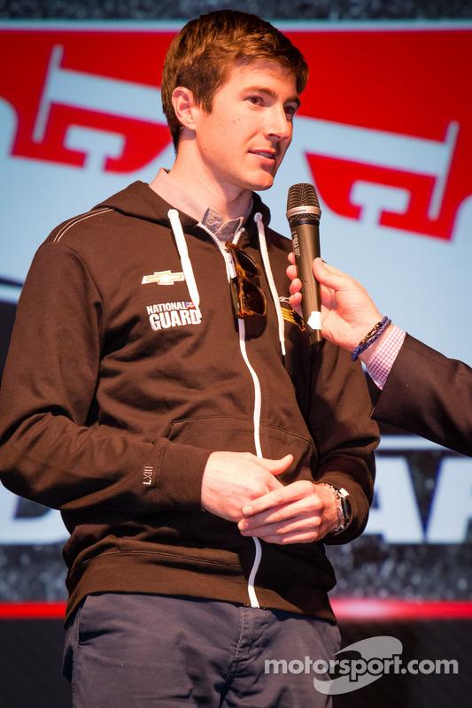 Apresentação de pilotos: JR Hildebrand, Panther Racing Chevrolet