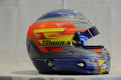 Helmet, Pepe Oriola, SEAT Leon WTCC, Tuenti Racing