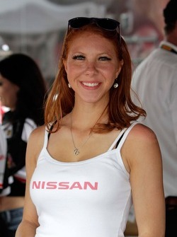 Nissan Flag Girl