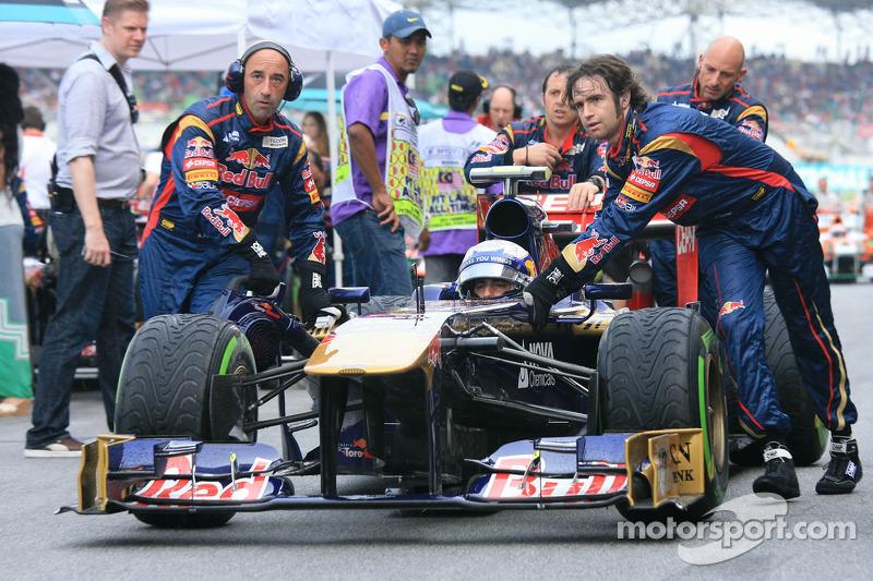 Даниэль Риккардо. ГП Малайзии, Воскресенье, перед гонкой.