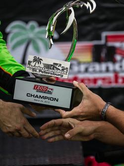 Círculo da Vitória: vencedor James Hinchcliffe, Andretti AutoSport Chevrolet