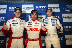 2nd position Tom Chilton, Chevrolet Cruze 1.6 T, RML, Yvan Muller, Chevrolet Cruze 1.6T, bamboo-engineering