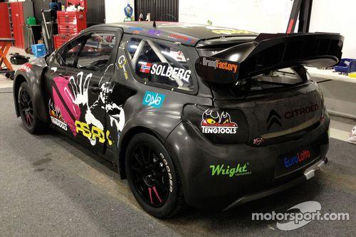 Petter Solberg Rally Cross car - apresentação