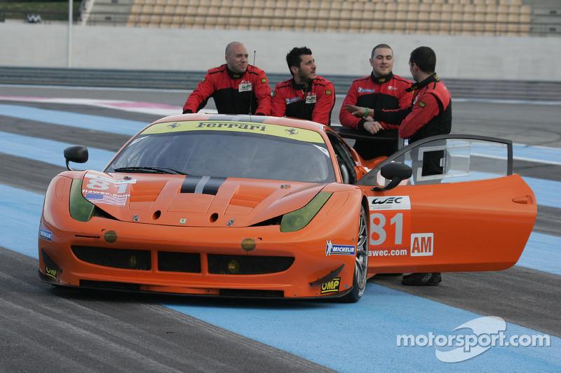 #81 8Star Motorsports Ferrari 458 Italia: Enzo Potolicchio, Rui Aguas, Philipp Peter, Jason Bright