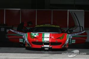 #71 AF Corse Ferrari F458 Italia: Gianmaria Bruni, Giancarlo Fisichella, Toni Vilander, Kamui Kobayashi
