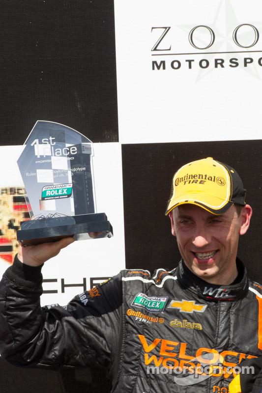 Pós-corrida: o vencedor Max Angelelli