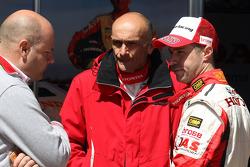 Gabriele Tarquini and Tiago Monteiro, Castrol Honda World Touring Car Team Honda Civic