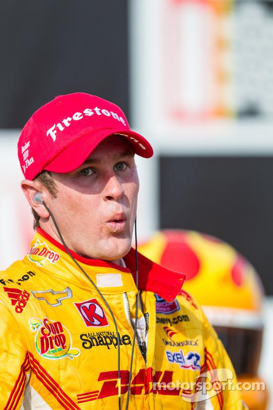 O vencedor Ryan Hunter-Reay, Andretti AutoSport