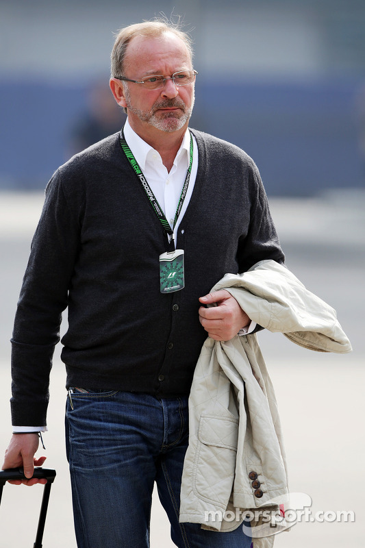 Didier Coton, manager de pilotos