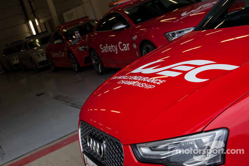 Audi WEC offical car fleet
