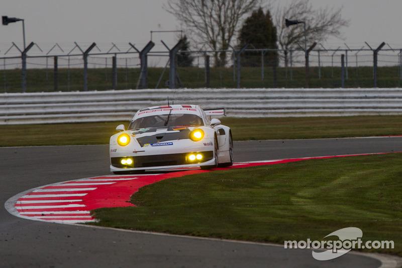 #92 Porsche AG Team Manthey Porsche 911 RSR: Marc Leib, Richard Leitz, Romain Dumas