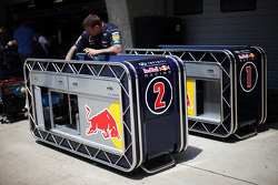 Grid equipment trolleys for Red Bull Racing