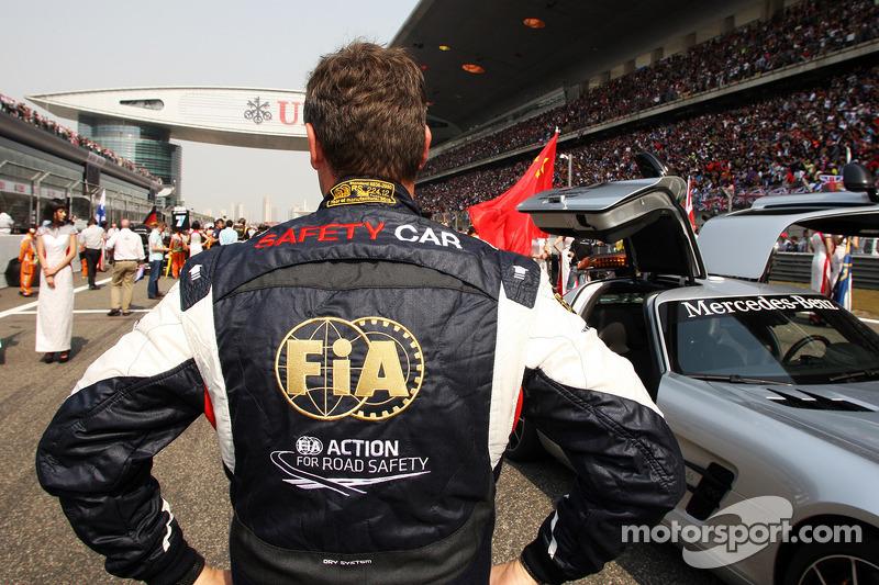 Bernd Maylander, Bestuurder FIA Safety Car