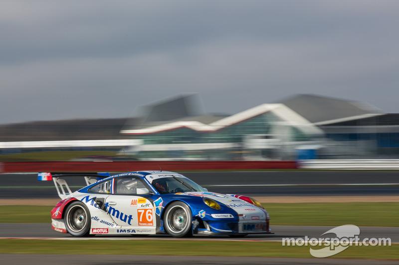 #76 IMSA Performance Matmut Porsche 911 GT3 RSR: Raymond Narac, Chrisophe Bourret, Jean-Karl Vernay