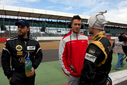 Vitantonio Liuzzi,  Andre Lotterer and Jan Charouz