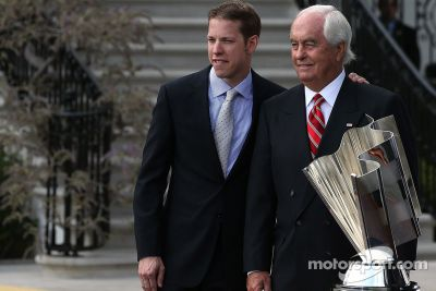Brad Keselowski visits the White House