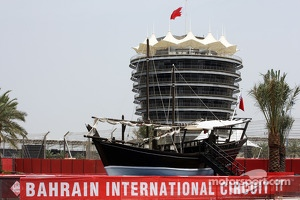 Circuit boat display