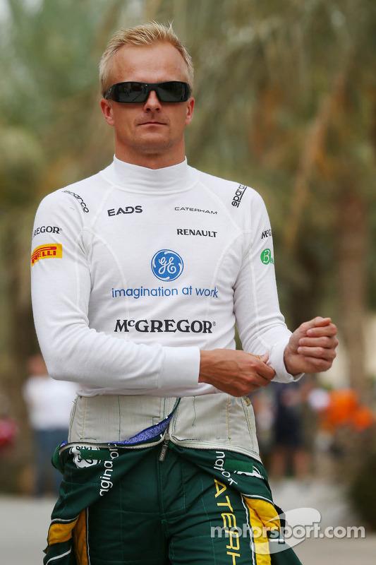 Heikki Kovalainen, Caterham F1 Team Piloto Reserva