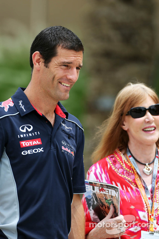 Mark Webber, Red Bull Racing com Helen Stewart