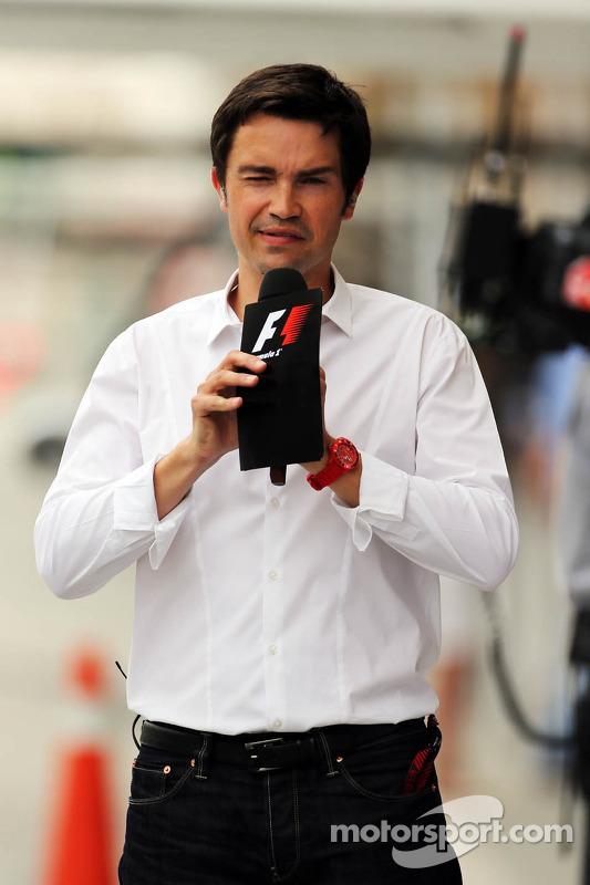 Thomas Senecal, Canal+ F1 Chief Editor and TV Presenter