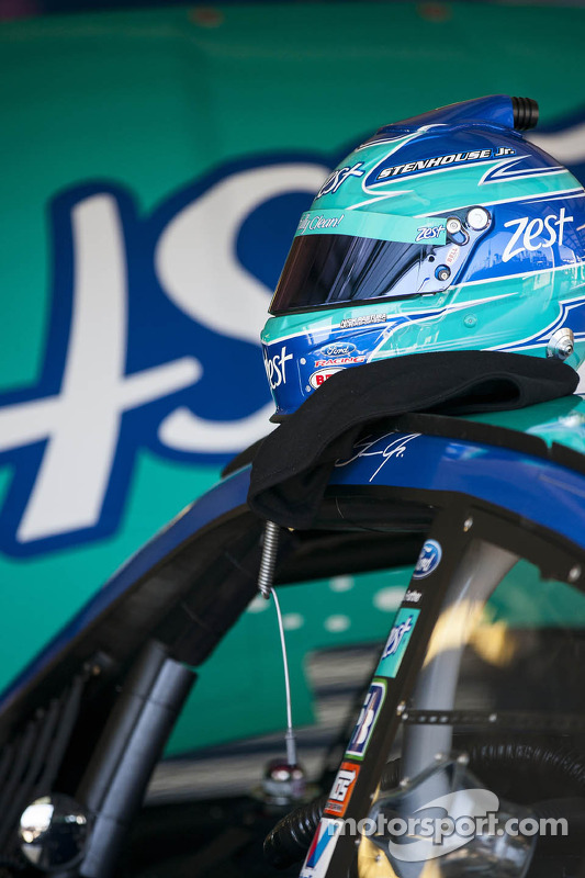 Capacete de Ricky Stenhouse Jr., Roush Fenway Racing Ford