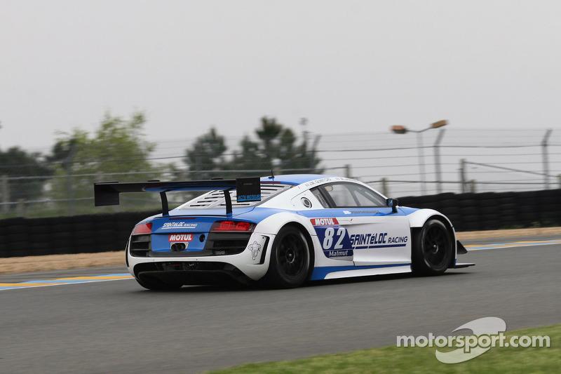 #82 Team Saintéloc Racing BR Performance Audi R8 LMS Ultra: Jean-Marc Quintois, Mathieu Jaminet