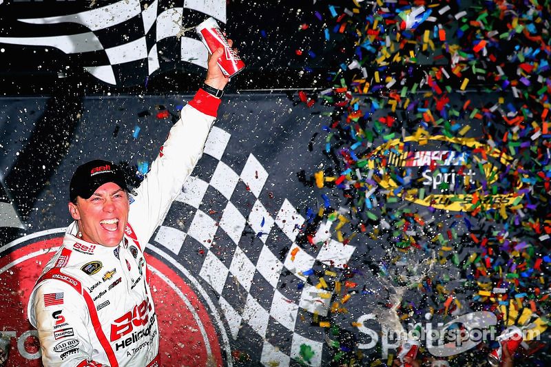 4. 2013: 'Happy' Harvick charges to the win after wild race
