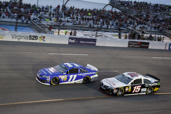 Brian Vickers and Clint Bowyer