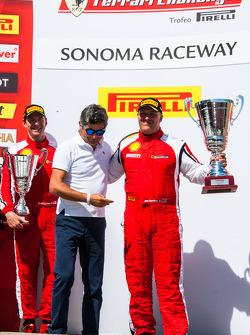 CS podium: winner Jon Becker