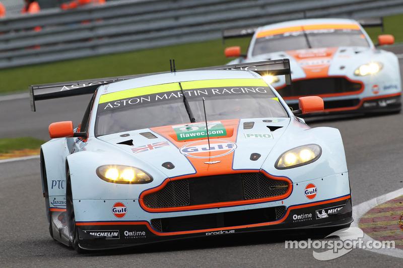 #97 Aston Martin Racing Aston Martin Vantage V8: Stefan Mücke, Bruno Senna, Darren Turner