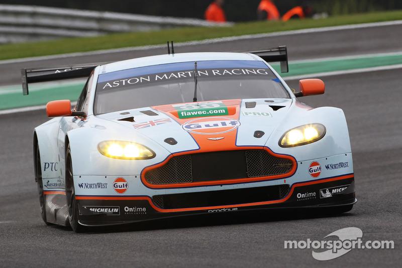 #99 Aston Martin Racing Aston Martin Vantage V8: Paul Dalla Lana, Frederic Makowiecki, Pedro Lamy