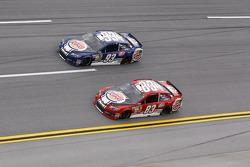 Travis Kvapil, BK Racing Toyota and David Reutimann, BK Racing Toyota
