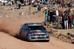 Ricardo Trivino e Alex Haro, Mitsubishi Evo X