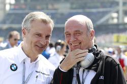 Jens Marquardt, BMW Motorsport Director and Dr. Wolfgang Ullrich, Head of Audi Motorsport