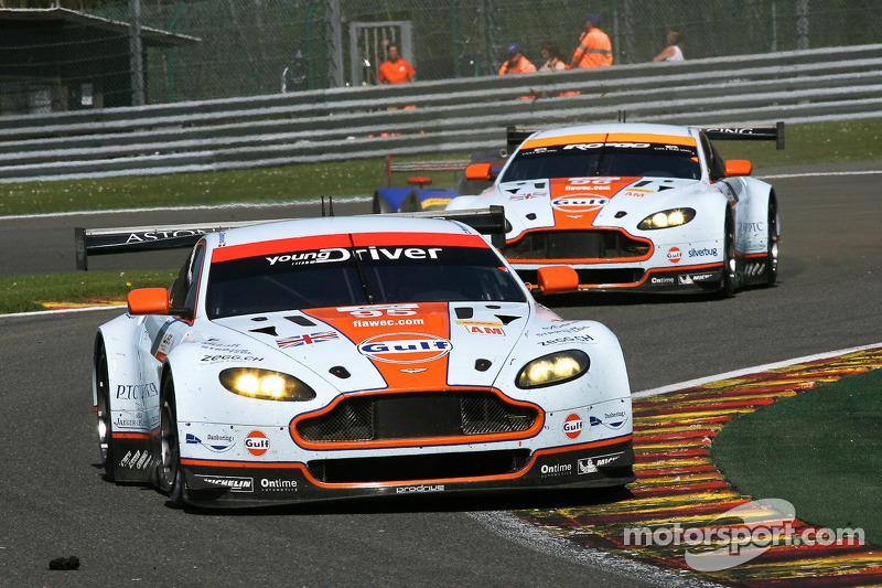 #95 Aston Martin Racing Aston Martin Vantage V8: Christoffer Nygaard, Kristian Poulsen, Allan Simons