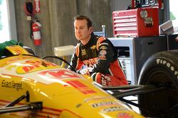 Kurt Busch prepares to test an Andretti Autosport IndyCar