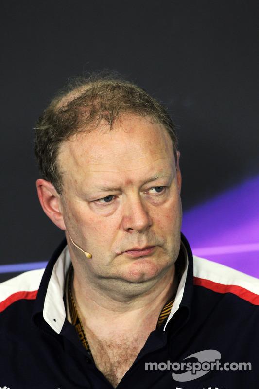 Mike Coughlan, Williams Diretor Técnico na coletiva da FIA