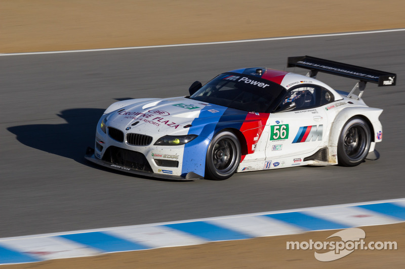 #56 BMW Team RLL BMW Z4 GTLM: Dirk Müller, John Edwards