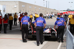 A.J. Foyt Enterprises team members