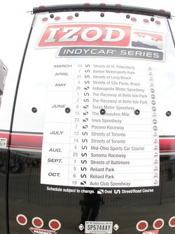 IndyCar Series schedule