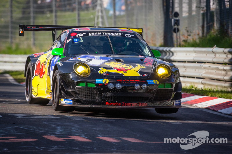 #8 Haribo Racing Team Porsche 911 GT3 R (SP9): Richard Westbrook, Emmanuel Collard, Mike Stursberg, Hans Guido Riegel