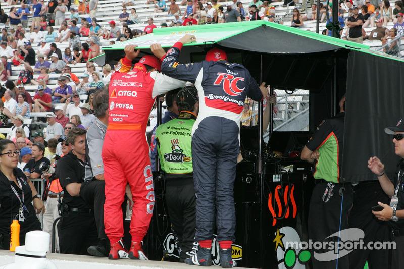 Andretti Autosport team area