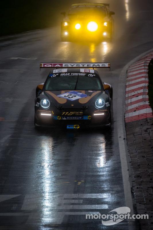 #33 11er-Ecke Racing Porsche 911 GT3 Cup (SP7): Andreas Sczepansky, Steffen Schlichenmeier, Peter König, Kurt Ecke