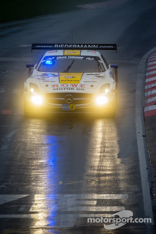 #22 Rowe Racing Mercedes-Benz SLS AMG GT3 (SP9): Klaus Graf, Thomas Jäger, Jan Seyffarth, Nico Basti