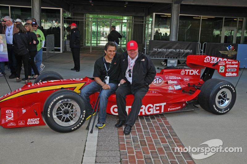 Alex Zanardi keert terug naar Indianapolis met Chip Ganassi