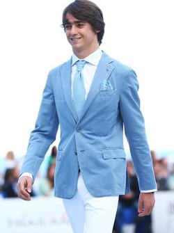 Esteban Gutierrez, Sauber no Salão Amber Fashion Show